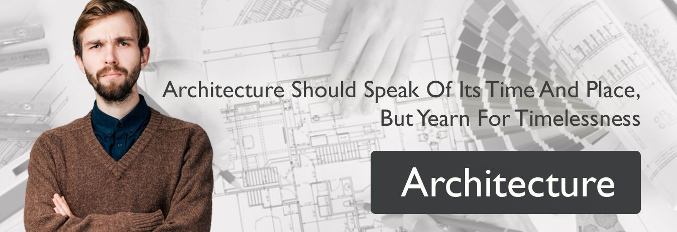 Architecture Banner 1348 × 463 with geeky guy